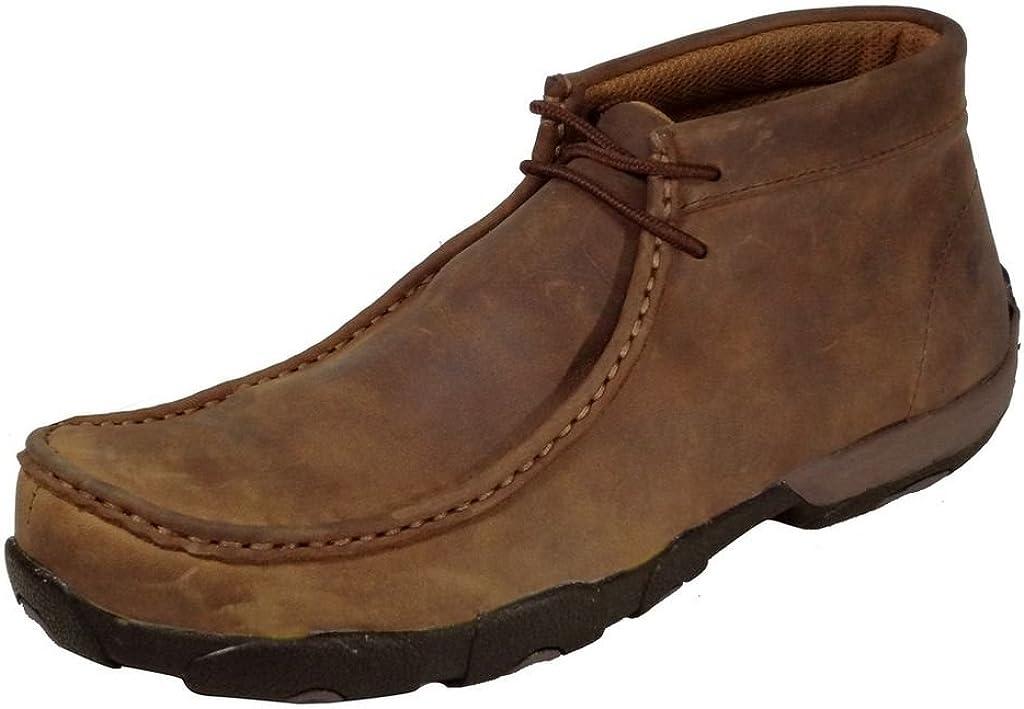 Twisted X Boys Boat Shoes Moc Toe