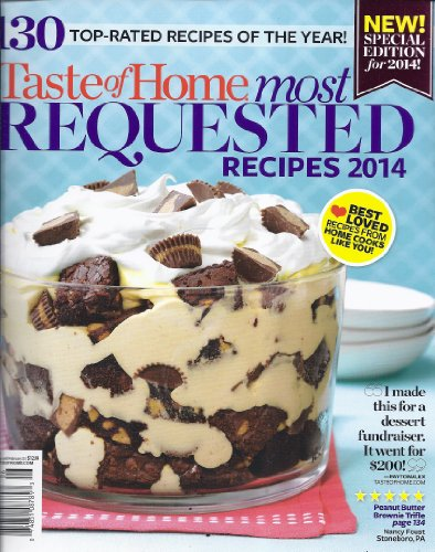 Most Requested Recipes 2014 (Taste of Home - Spring 2014)