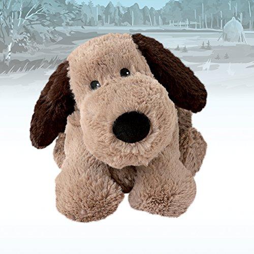 Warmies - Peluche térmico Perro, extraíble, Color marrón (T-Tex 34): Amazon.es: Juguetes y juegos