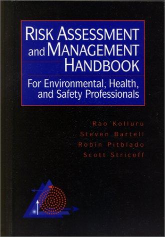 PDF-DOWNLOAD Risk Assessment and Management Handbook: For ...