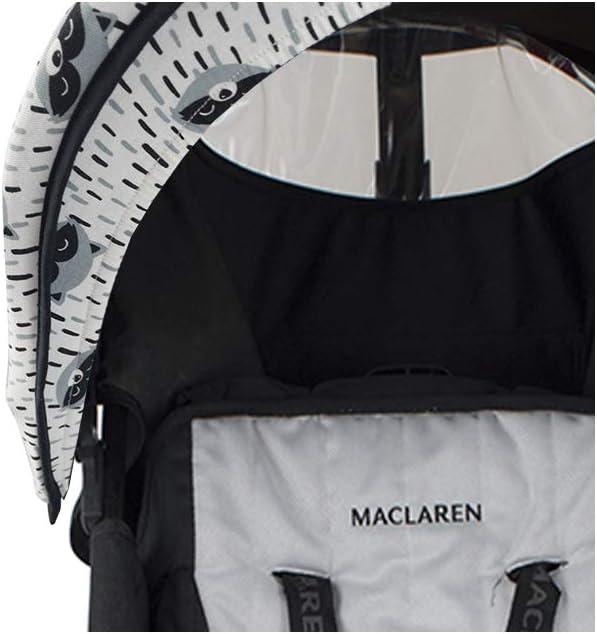 BLACK SERIES Janabeb/é Cubre capota para Maclaren Quest Techno