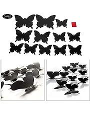 duurzame muursticker stevige vlinders muurstickers opvallende vlinders decoratie ontwerp stereoscopische muursticker gebruiksvriendelijke huisdecoratie