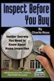 Inspect Before You Buy, Charlie Rose, 1601380313
