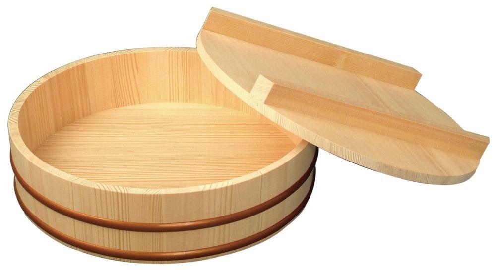 Ohitsu Hangiri Wooden Bowl Japan Kitchen Goods Size16.5''(42cm)