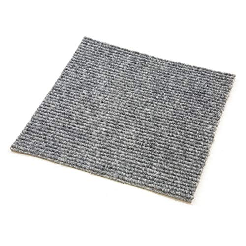 Incstores BerberSmoke Berber Carpet Tiles, Smoke, 20 Pack