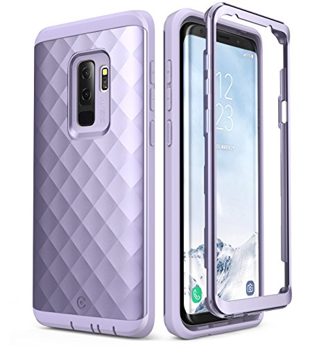Clayco Samsung Galaxy S9+ Plus Case, [Hera Series] Full-Body Rugged Case Without Screen Protector for Samsung Galaxy S9+ Plus (2018 Release) (Purple)