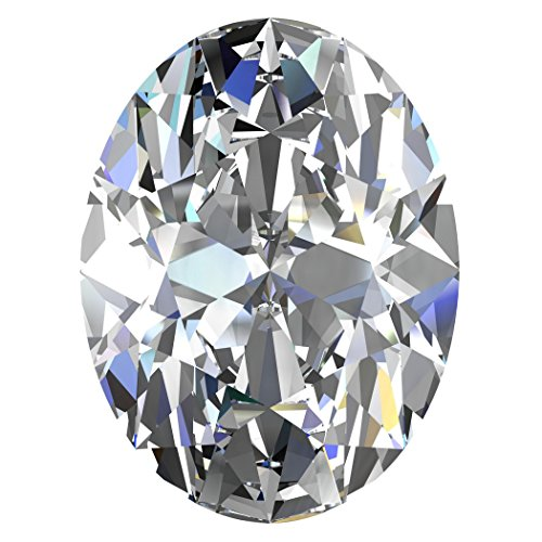 Oval Si1 Loose Diamonds (GIA Certified Natural 1.72 Carat Oval Diamond with I Color & SI1 Clarity)