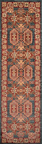 Momeni Rugs GHAZNGZ 01BLU2376 Collection Traditional product image