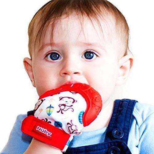 NUOBESTY Beb/é Cepillo de Dientes Novedad Mordedor de Juguete de Silicona Mordedor de Beb/é para Beb/é Beb/é Ni/ño Artificial Adorno de Ma/íz Verde Claro