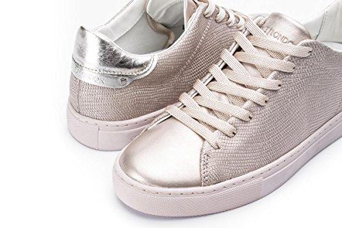 Effetto London Crime Rosa 38 Size Oro Sneakers Basse Pitonato d1rqZnXrwx