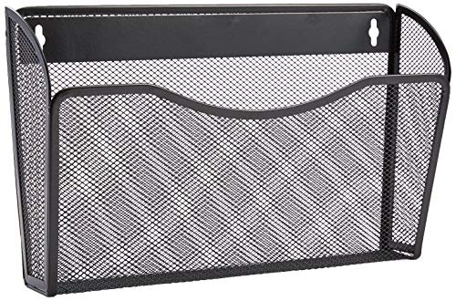 (AmazonBasics Mesh Bin Office Wall Folder File)