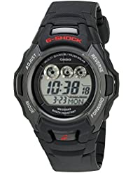 G-Shock GWM530A-1 Mens Tough Solar Atomic Black Resin Sport Watch