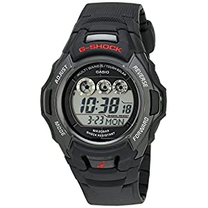 51PGdA97A8L. SS300  - G-Shock Men's Tough Solar Black Resin Sport Watch