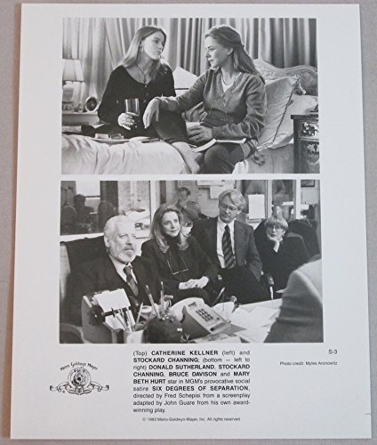 Catherine Kellner & Stockard Channing & Donald Sutherland: Six Degrees of Taking 8x10 Photograph original