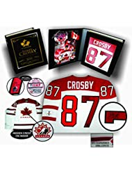 Sidney Crosby Signed Jersey Game Model Team Canada 2010 Olympics White In  Deluxe Box 1622fe9ba