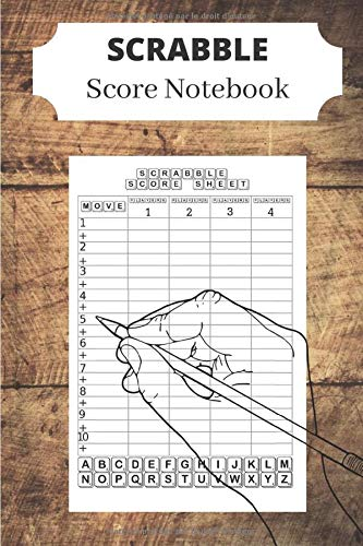 Scrabble Score Notebook: 100 Sheets-Scrabble Board game-Scrabble Score Pad- Scrabble Game Record book For up to 4 Players-the perfect gift for scrabble fans: Amazon.es: Scoredit, Scrabble: Libros en idiomas extranjeros