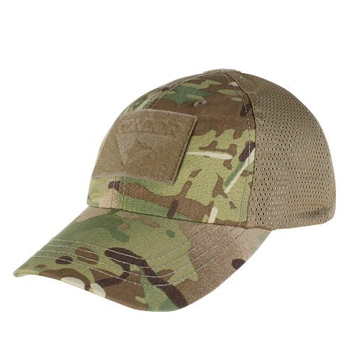 Condor Mesh Tactical Cap (Multicam, One Size Fits (Camo Mesh Hat)