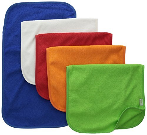 green sprouts Stay-Dry Burp Pads (5 Count) by green sprouts [並行輸入品]   B01AKZW3ZE