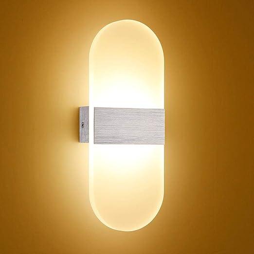 Modernas luces de pared LED Escaleras Iluminación Luces de pared ...
