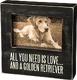 Primitives by Kathy Golden Retriever Box Frame