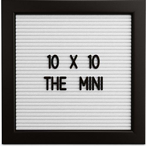 low-cost Letterly Love Letter Board - White Felt Letterboard 10x10 ...