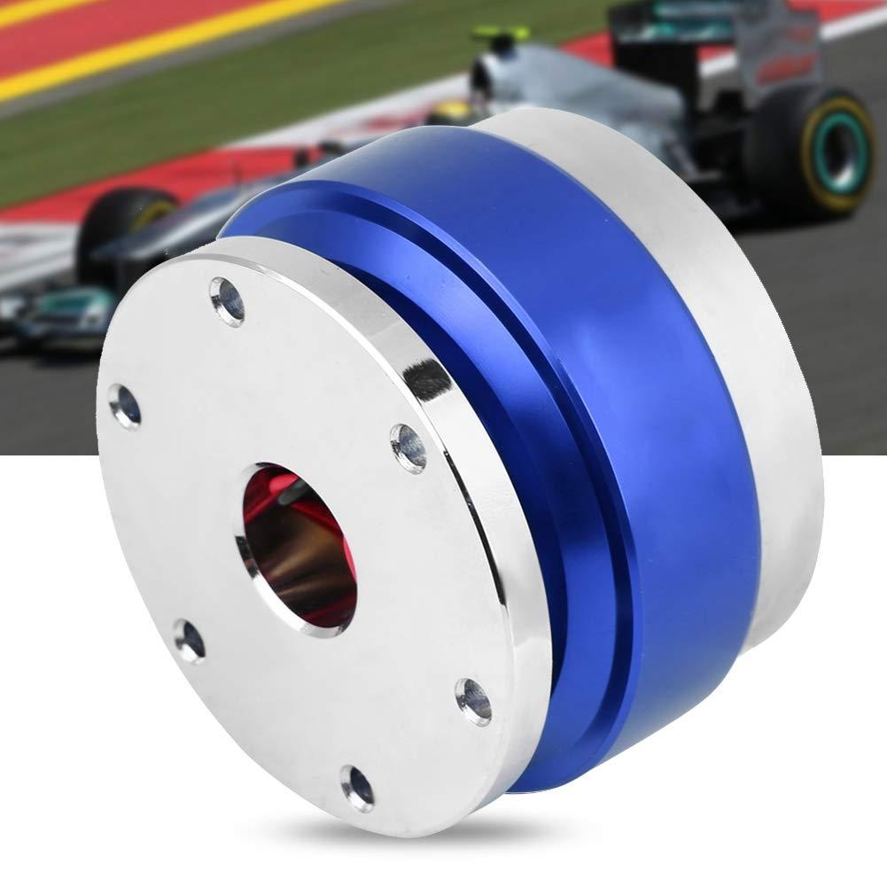 Black Cuque Aluminum Alloy Car Quick Release Hub Adapter Kit Universal Steering Wheel Hub Adapter for Racing Car