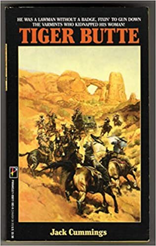 book cover of Tiger Butte
