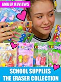 Amber Reviews School Supplies The Eraser Collection