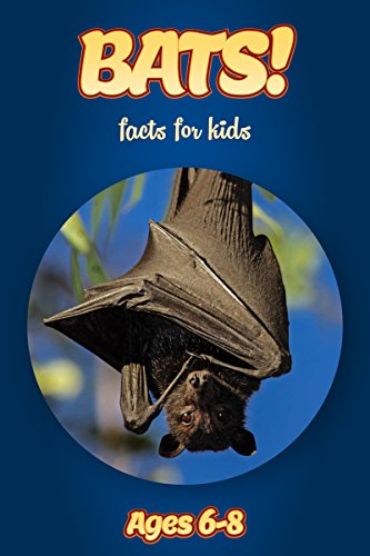 Facts About Bats For Kids Ages 6-8: Amazing Animal Facts With Large Size Pictures: Clouducated Blue Series Nonfiction For Kids