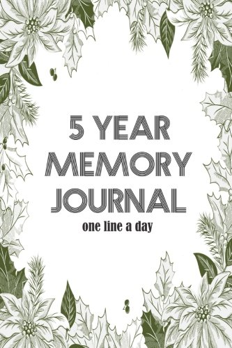 5-year-memory-journal-one-line-a-day-diary-note-for-memo-dated-and-lined-book