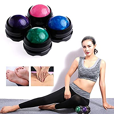 MEXUD Massage Roller Ball Massager Body Therapy Foot Hip Back Relaxer Stress Release