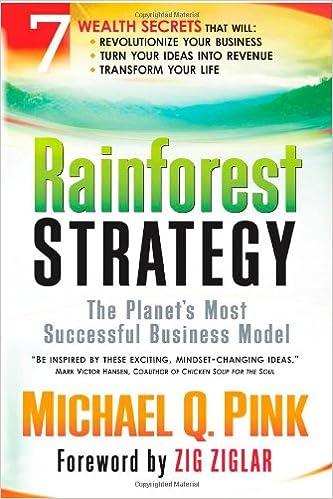 Rainforest Spontaneous Wealth: Business Secrets of the Rainforest