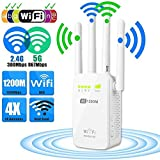 Cewaal AC1200 Wi-Fi Router - Wireless Range Extender - Network Repeater - Dual Band 2.4G / 5G - WAP Wireless Access Point - WISP Wireless Signal Amplification