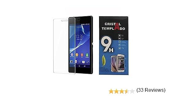 Fologar Protector de Pantalla de Cristal Templado 0,3 mm para Sony Xperia M2 D2302 D2303 D2305 D2306: Amazon.es: Electrónica