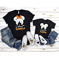 Halloween Family Vacation Trip Shirts, Custom Name Disney Halloween Shirt, Disney Halloween Shirt