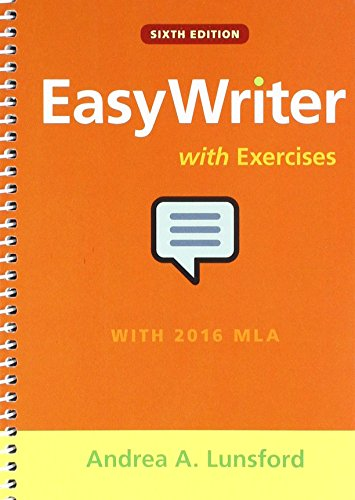 EasyWriter with Exercises 6e & LaunchPad Solo for the Lunsford Franchise (Twelve-Months Access)