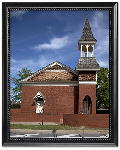 ClassicPix Black Wood Framed Print 8x10: Auburn University Chapel is The Oldest Building in Its.
