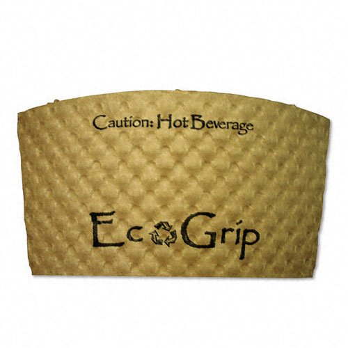 Eco-Products EcoGrip Recycled Content Hot Cup Sleeve Kraft 1300/Ctn - Eco-Products EG2000
