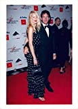 Vintage photo of Claudia Schiffer and Tim Jeffries at the American Fashion Awards at Lincoln Center