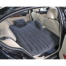 ibigbean Heavy Duty Inflatable Car Mattress Bed for SUV Minivan Back Seat Extended Mattress (Black)