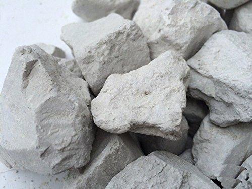 Gray Edible Clay Chunks (lump) Natural for Eating (Food), 1 lb (450 g)