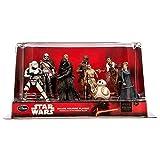 Star Wars Disney The Force Awakens DELUXE 10 pvc Figure Figurine doll Playset - Han Solo, Leia, Poe, Chewbacca, Flametrooper, Phasma, Kylo, Rey, BB-8, Finn by Disney