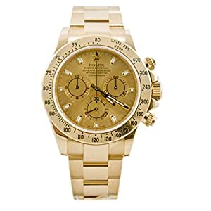 Rolex Daytona swiss-automatic mens Watch 116528CSO (Certified Pre-owned)