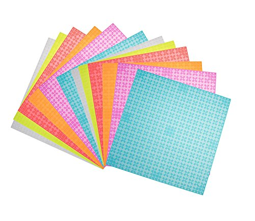 Strictly Briks Classic Baseplates 100% Compatible with All Major Building Brick Brands   Double Sided Stackable Bases   12 Tight Fit Base Plates in Clear Colors 6.25 x 6.25