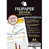 Filipaper 2603, Transparência Inkjet, Multicolor, pacote de 50