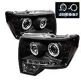 Spyder Auto PROJECTOR HEADLIGHT BLACK 5010230