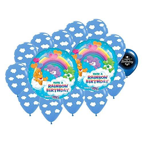 Care Bears Rainbow Party Balloon Bouquet (Orange Care Bear)