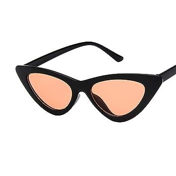 Amazon.com: Gafas de sol retro vintage de cateye para mujer ...