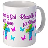 CafePress - CHRISTIAN 90TH Mug - Unique Coffee Mug, Coffee Cup