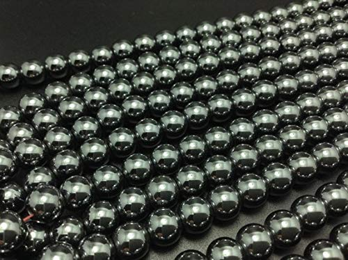 LOVEKUSH Beautiful AAA++ Quality 50 pcs 8 mm hematite beads shamballa beads craft supplies wholesale beads